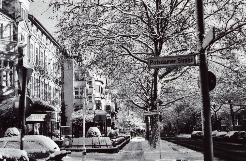 Winter in Berlin Lichterflde