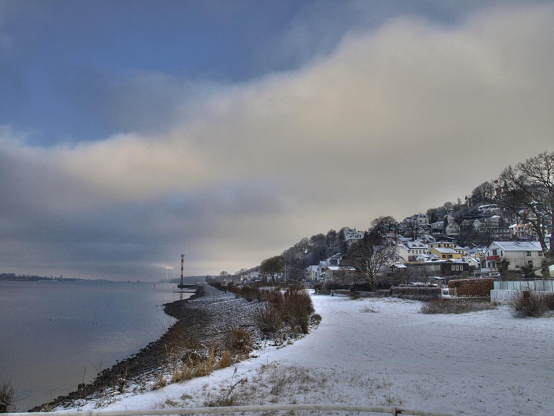 Winter in Blankenese
