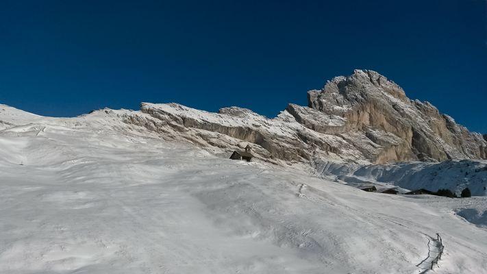 Winter in den Dolimiten