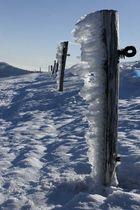 Winter in den Hochvogesen