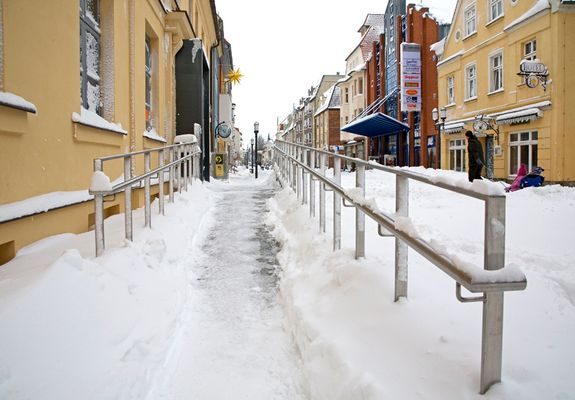 Winter in der Greifswalder Innenstadt