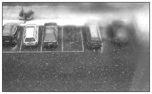 Winter in der großen Stadt