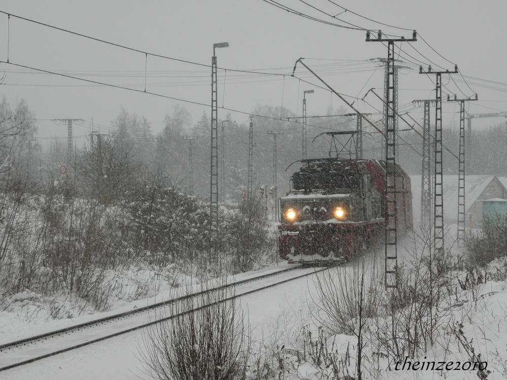 Winter in der Kohle