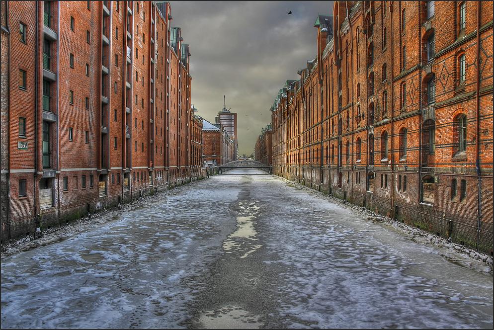 * Winter in der Speicherstadt *
