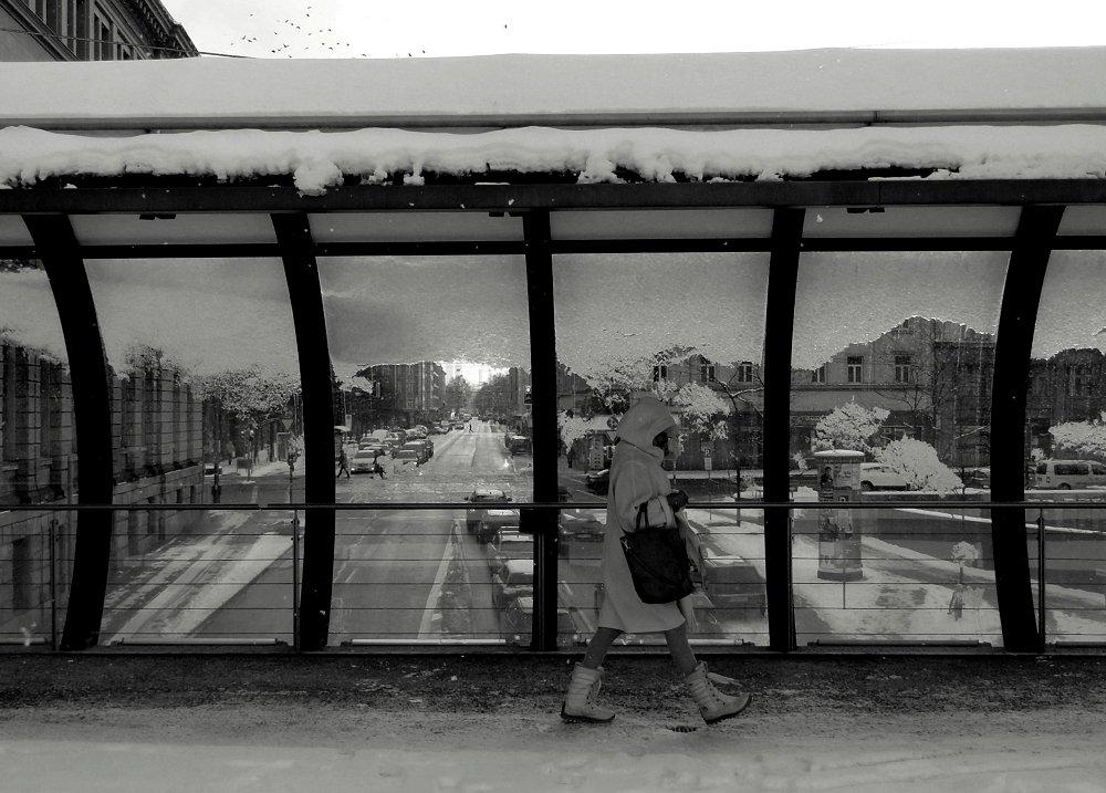 Winter in der Stadt I/x