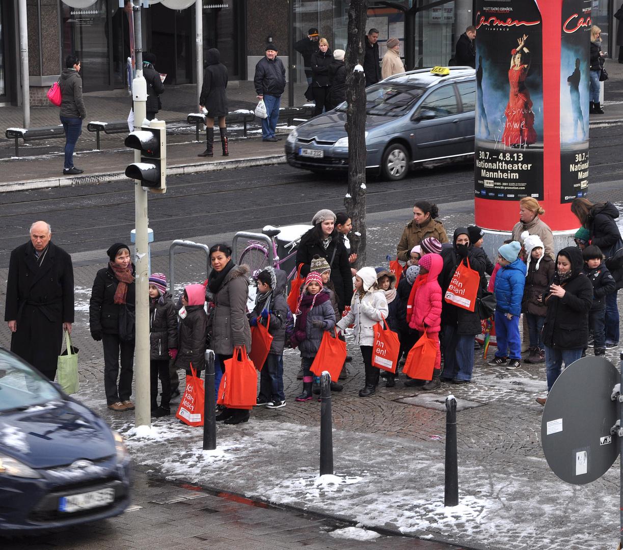 Winter in der Stadt......Kids