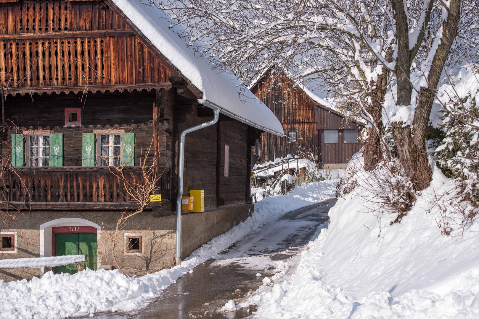 Winter in der Weststeiermark 2