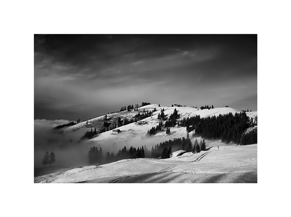 Winter in die Schweiz