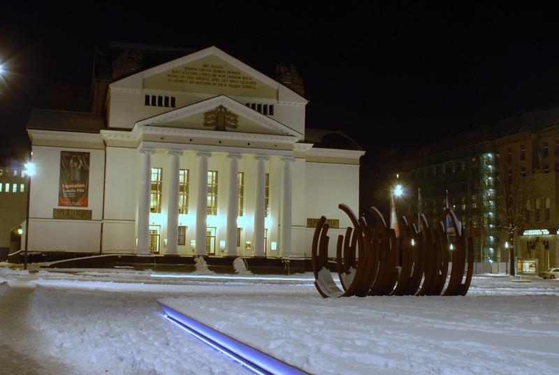 Winter in Duisburg
