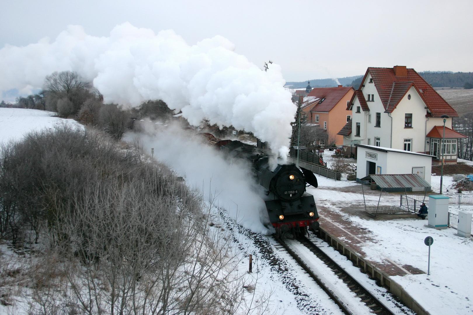 Winter in Ettenhausen