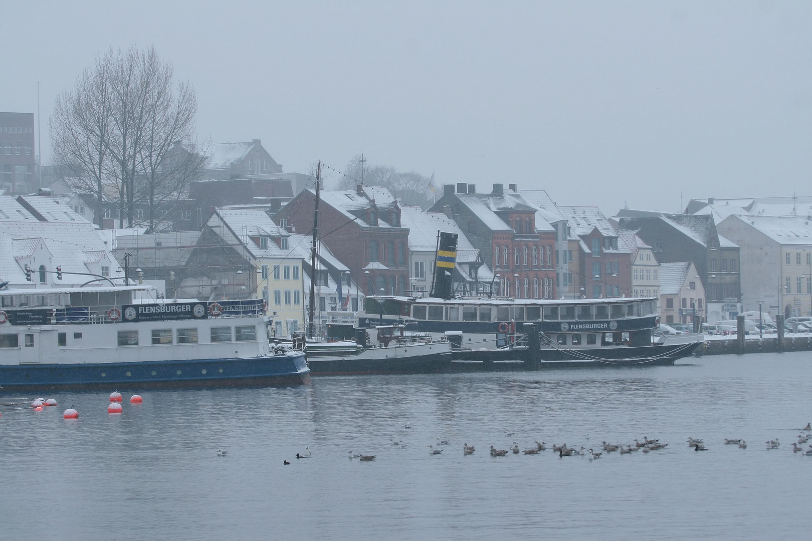 Winter in Flensburg