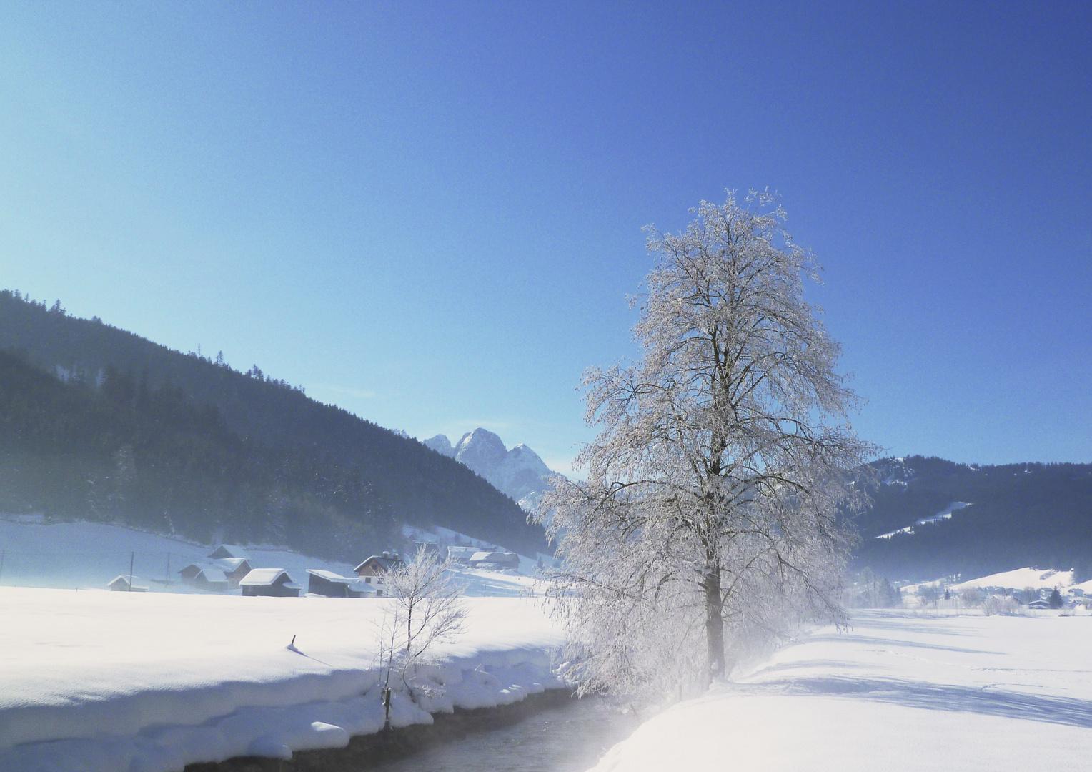 Winter in Gosau