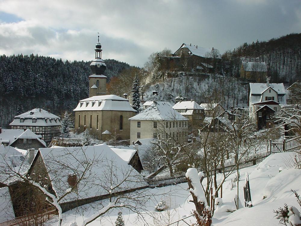 Winter in Gräfenthal