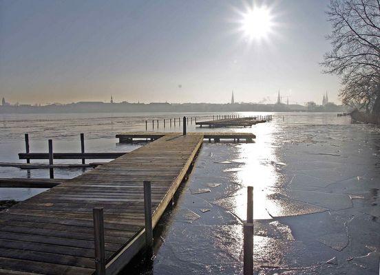""" Winter in Hamburg"""