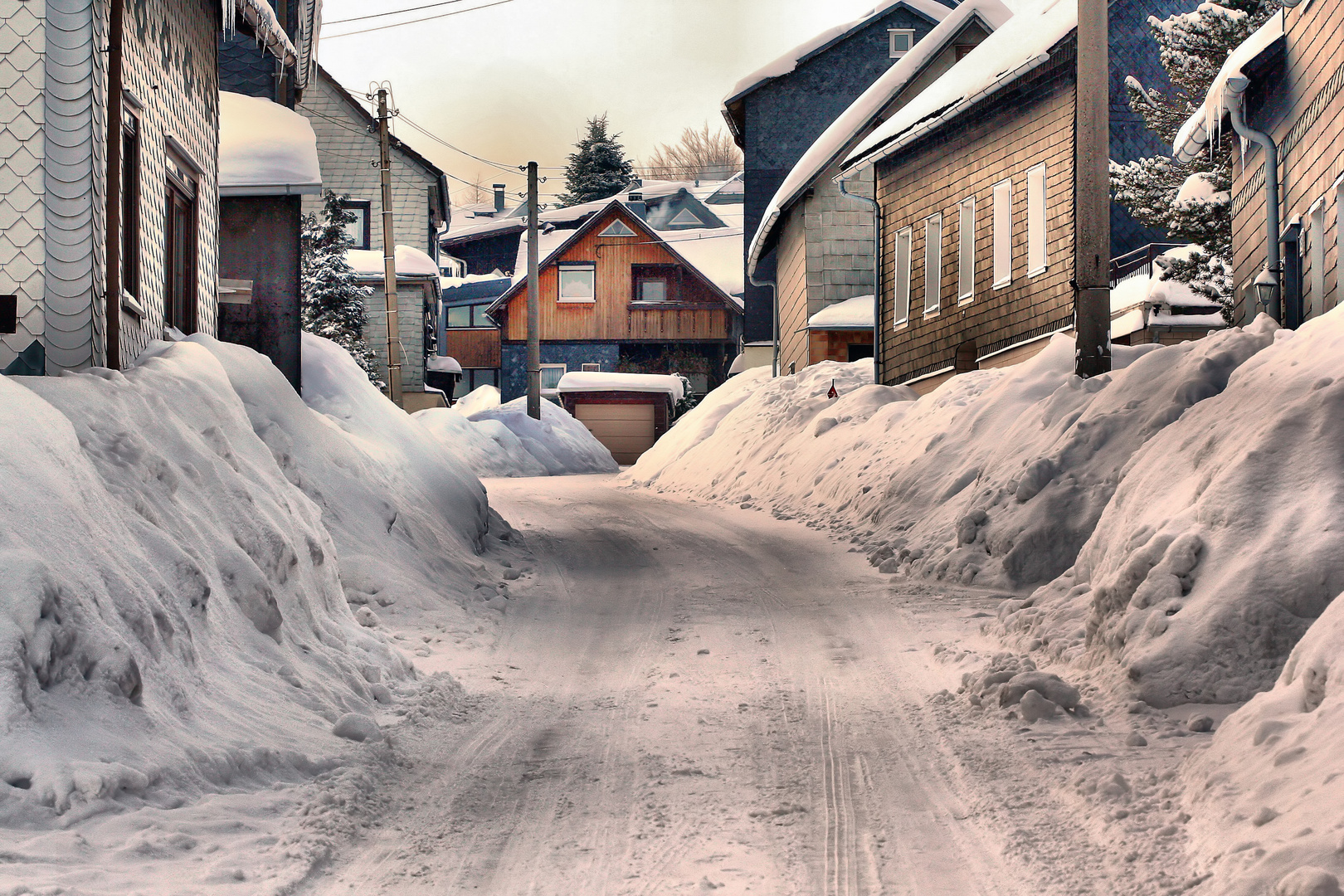 Winter in Hasenthal