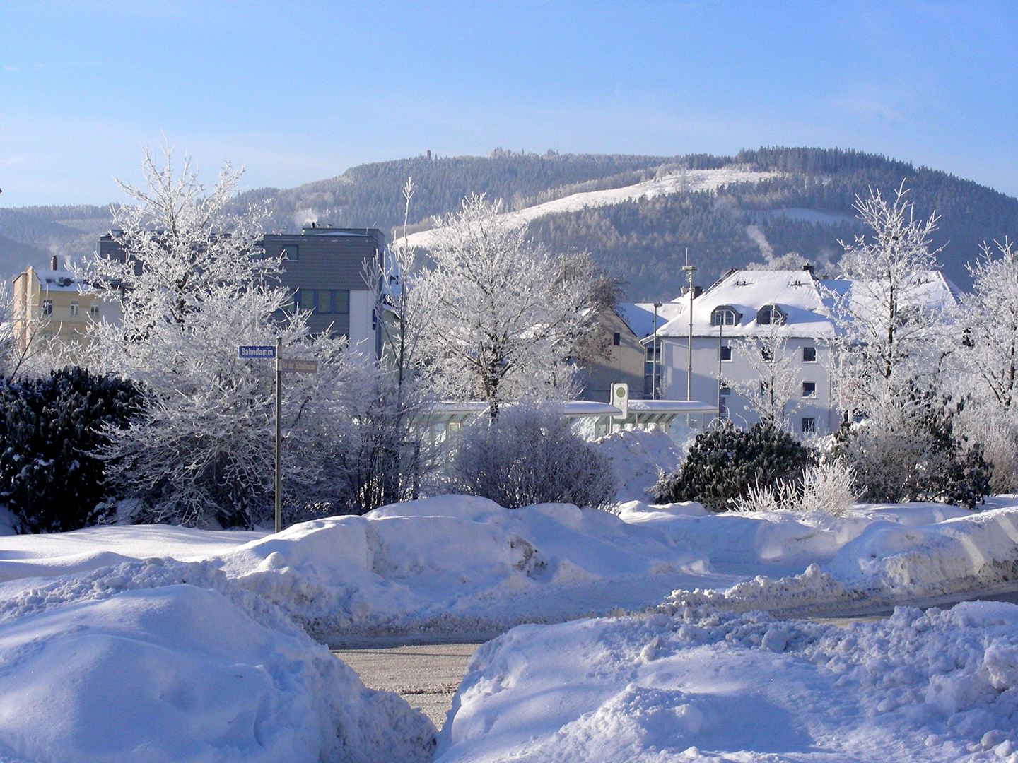 Winter in Ilmenau