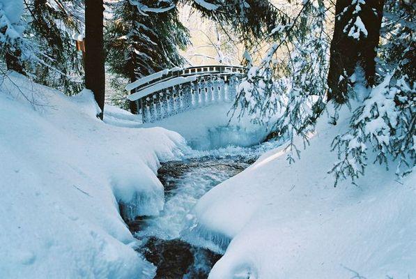 Winter in Jägersgrün