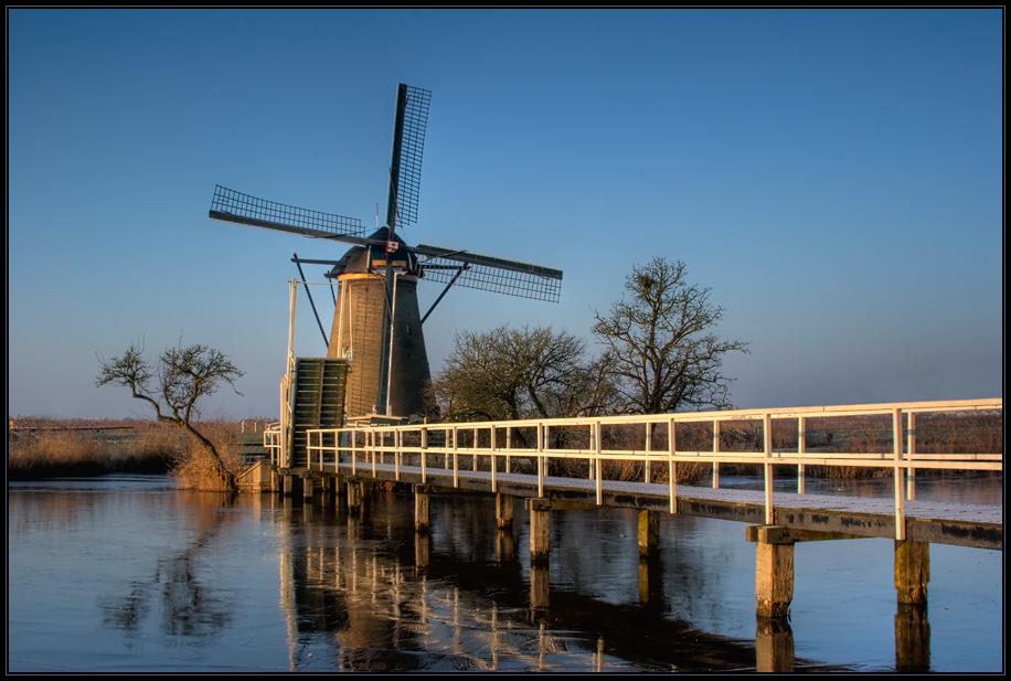 Winter in Kinderdijk (II)