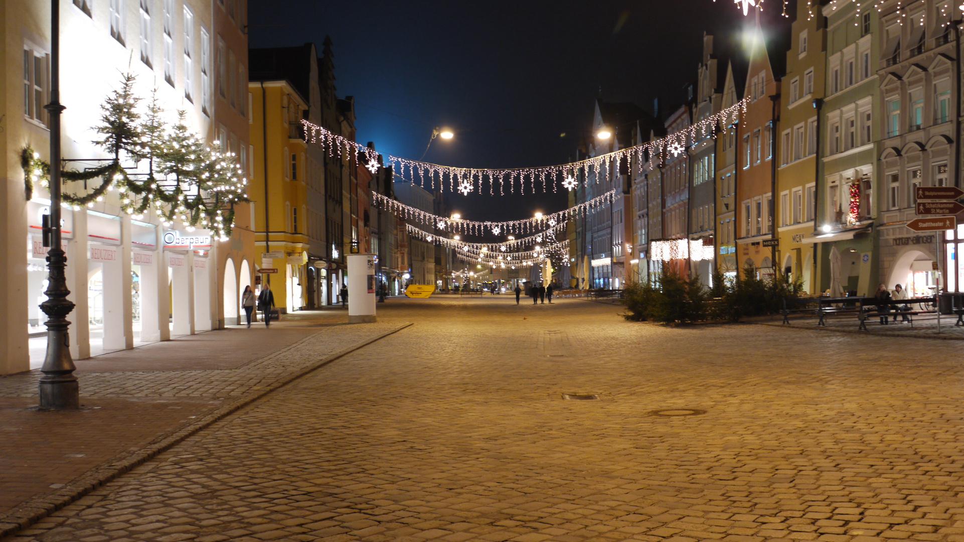 Winter in Landshut