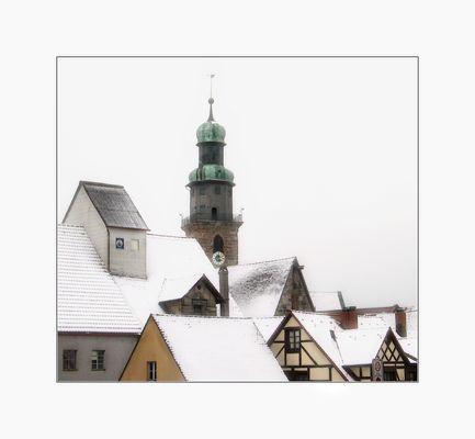 Winter in Lauf