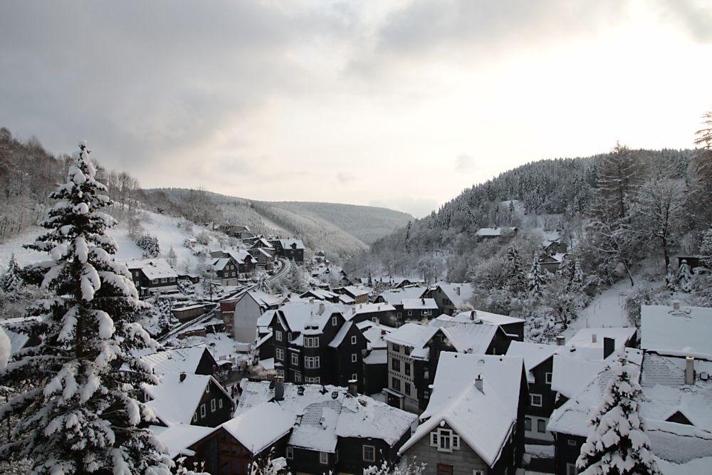 Winter in Lauscha