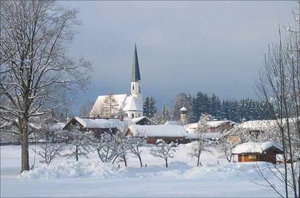 Winter in Lenggries