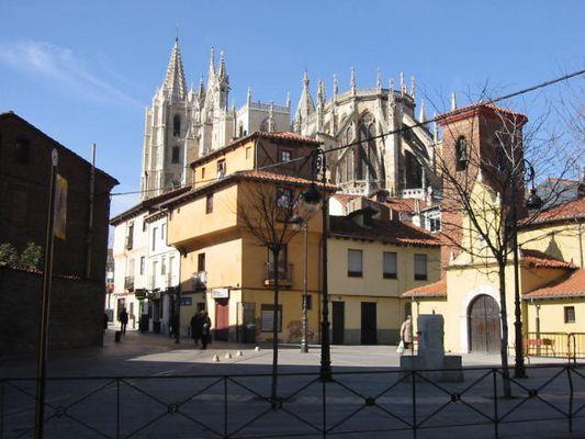 Winter in Leon Spain