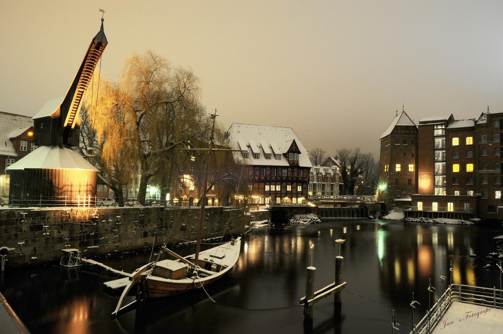 Winter in Lüneburg Foto & Bild