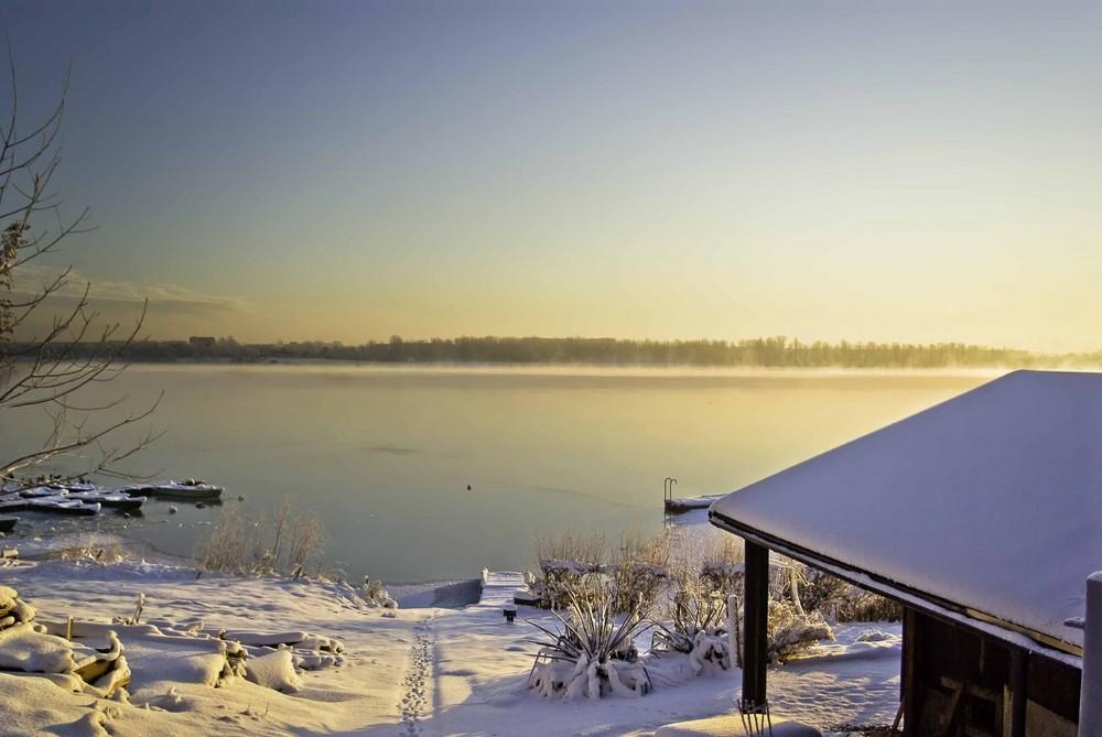 Winter in meiner Heimat