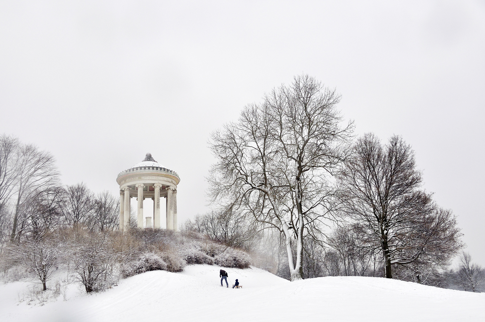 winter in m nchen 02 foto bild deutschland europe bayern bilder auf fotocommunity. Black Bedroom Furniture Sets. Home Design Ideas