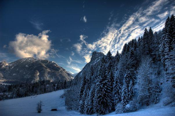Winter in Oberammergau