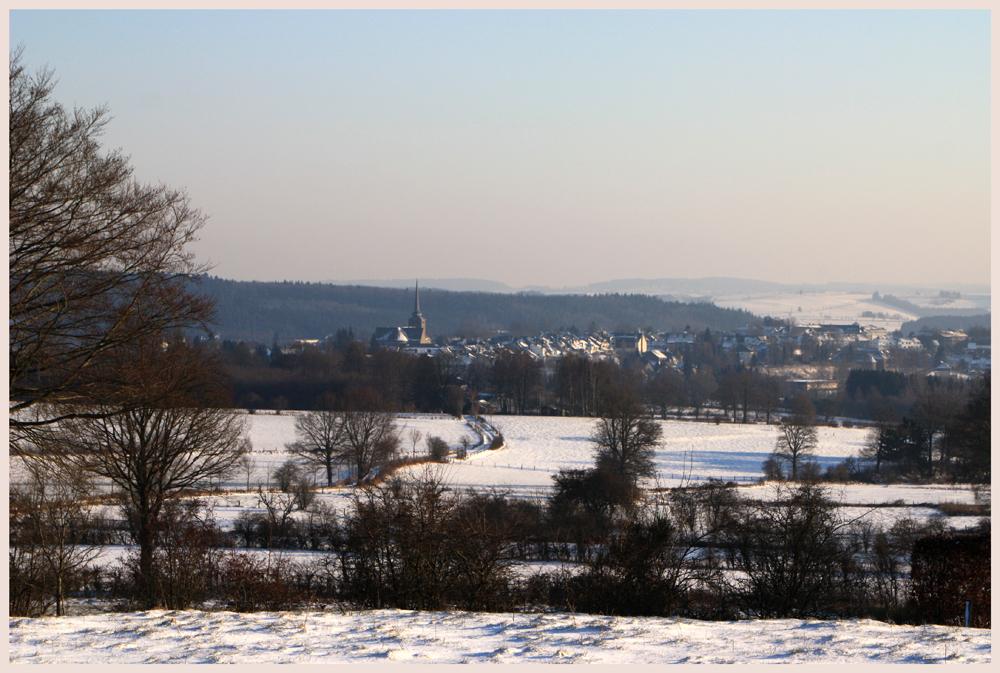 Winter in Ostbelgien 2009