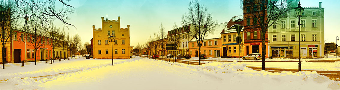 Winter in Peitz