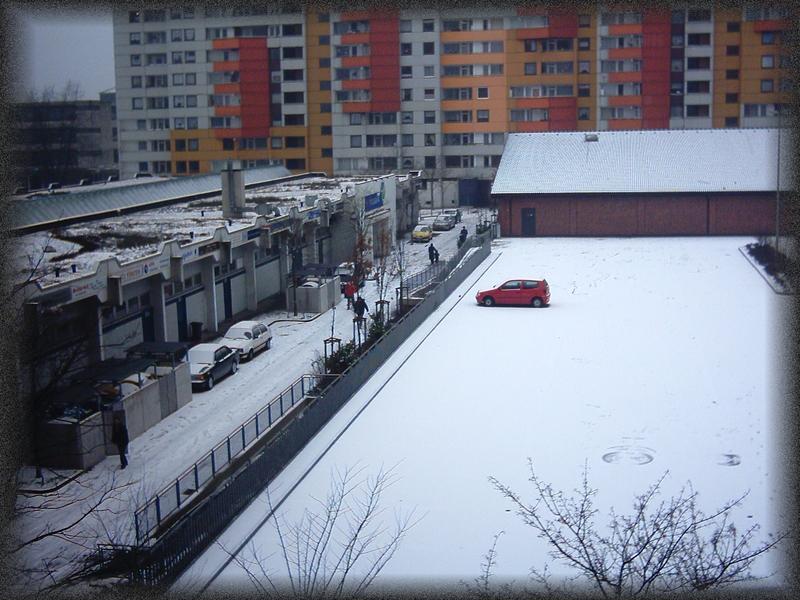 Winter in Ratingen...