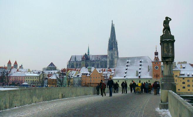 Winter in Regensburg