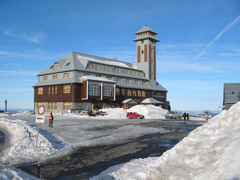 Winter in Sachsen - Fichtelberg