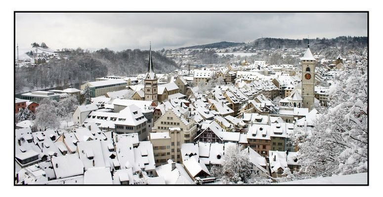 Winter in Schaffhausen