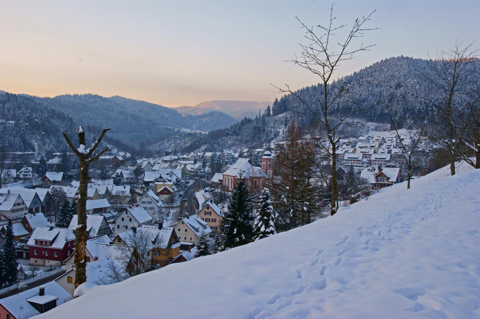 Winter in Schenkenzell/Kinzigtal
