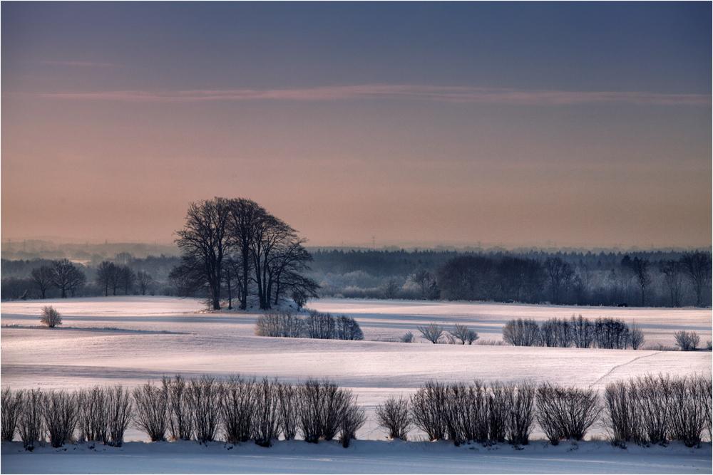 Winter in Schleswig Holstein