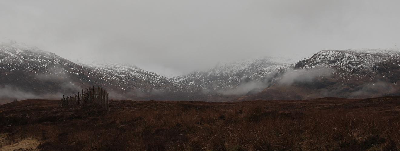 ... winter in Scotland ...