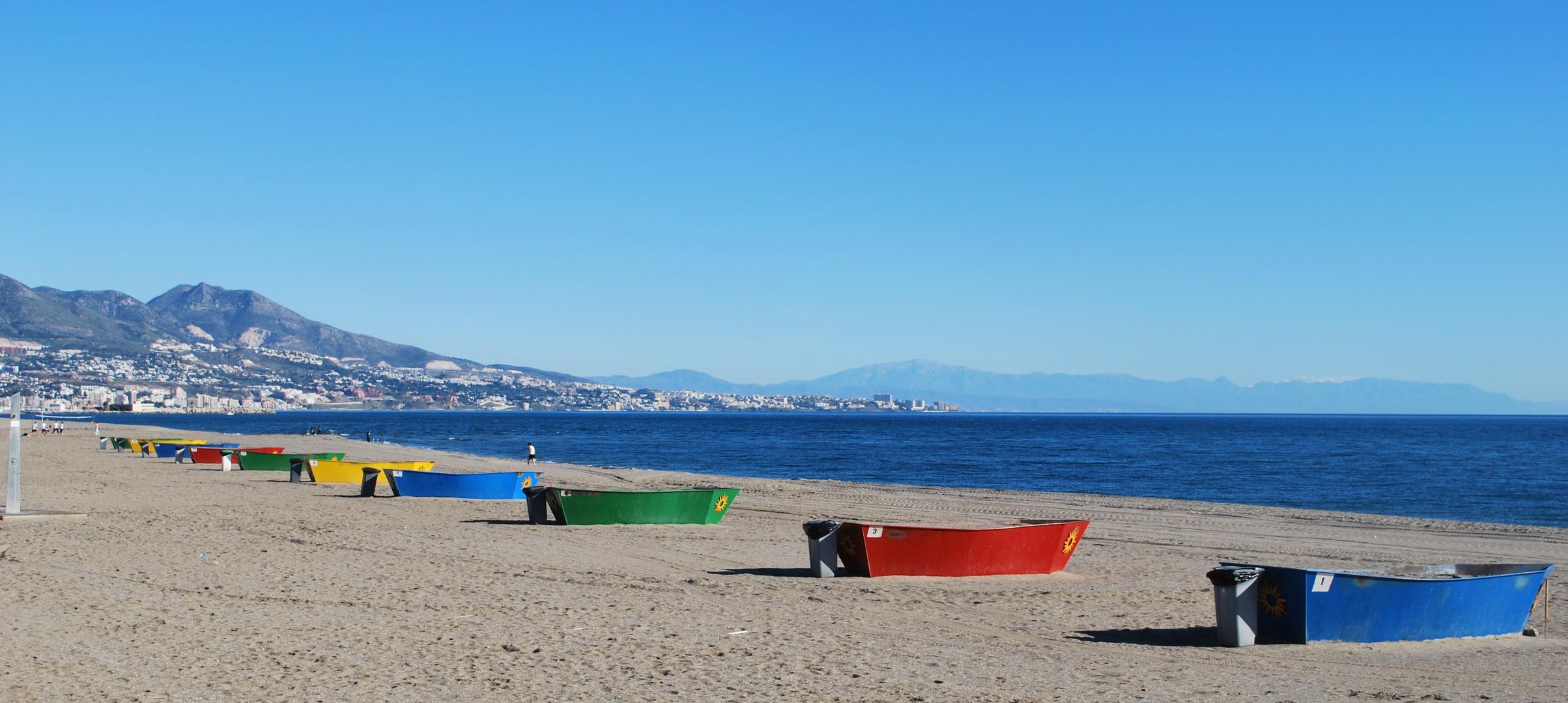 Winter in Spanien