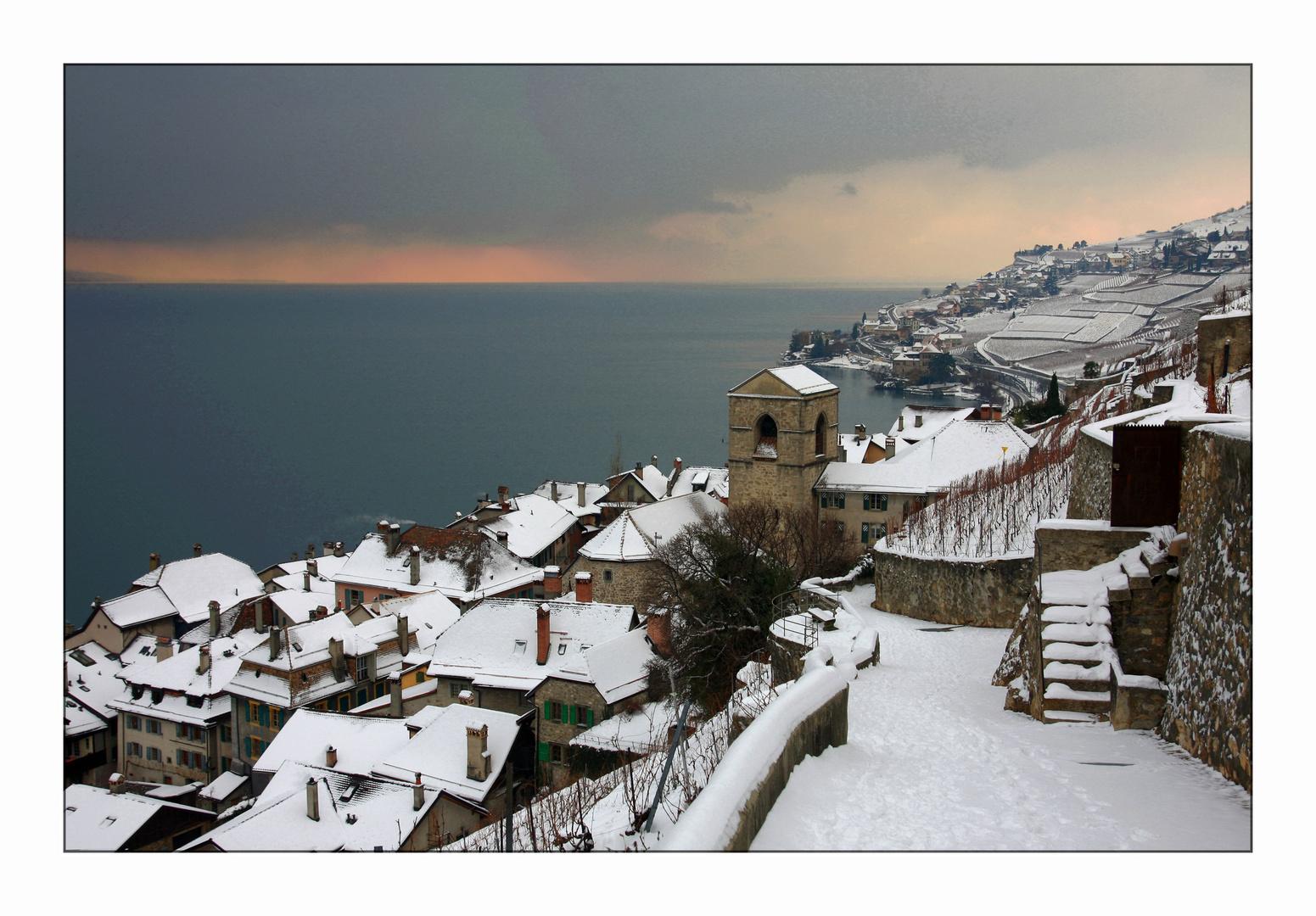 Winter in St. Saphorin