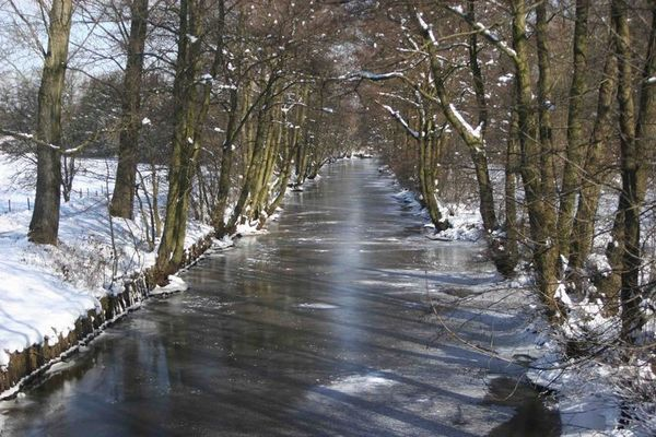 Winter in Stade