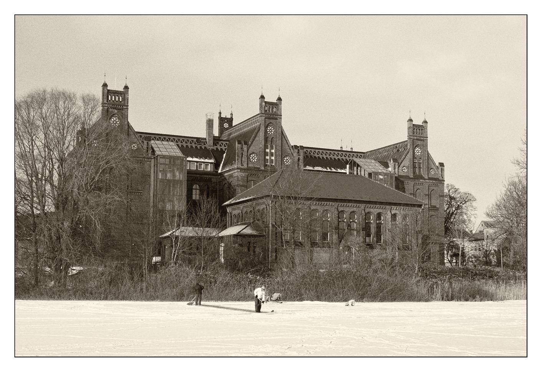 Winter in Stralsund