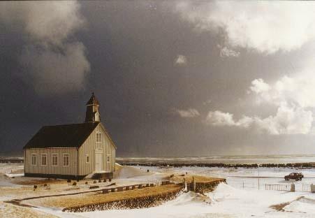 Winter in Strandarkirkja