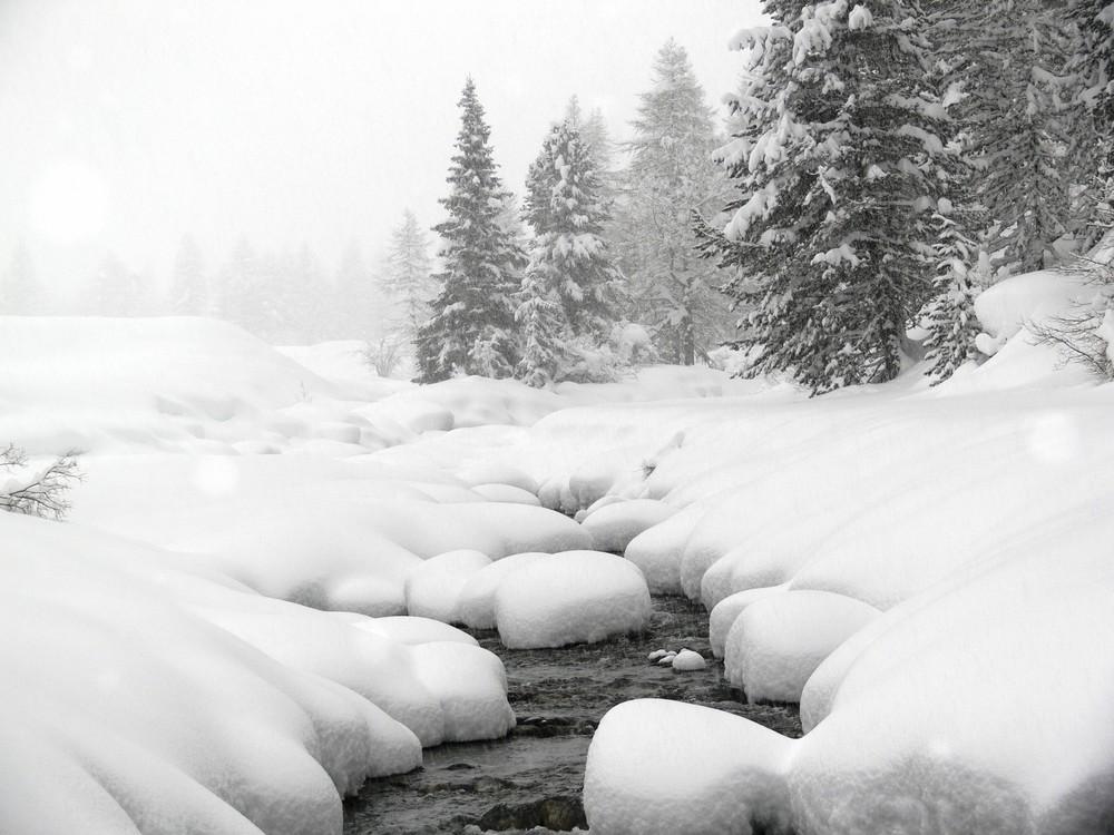 Winter in Sulden/Südtirol