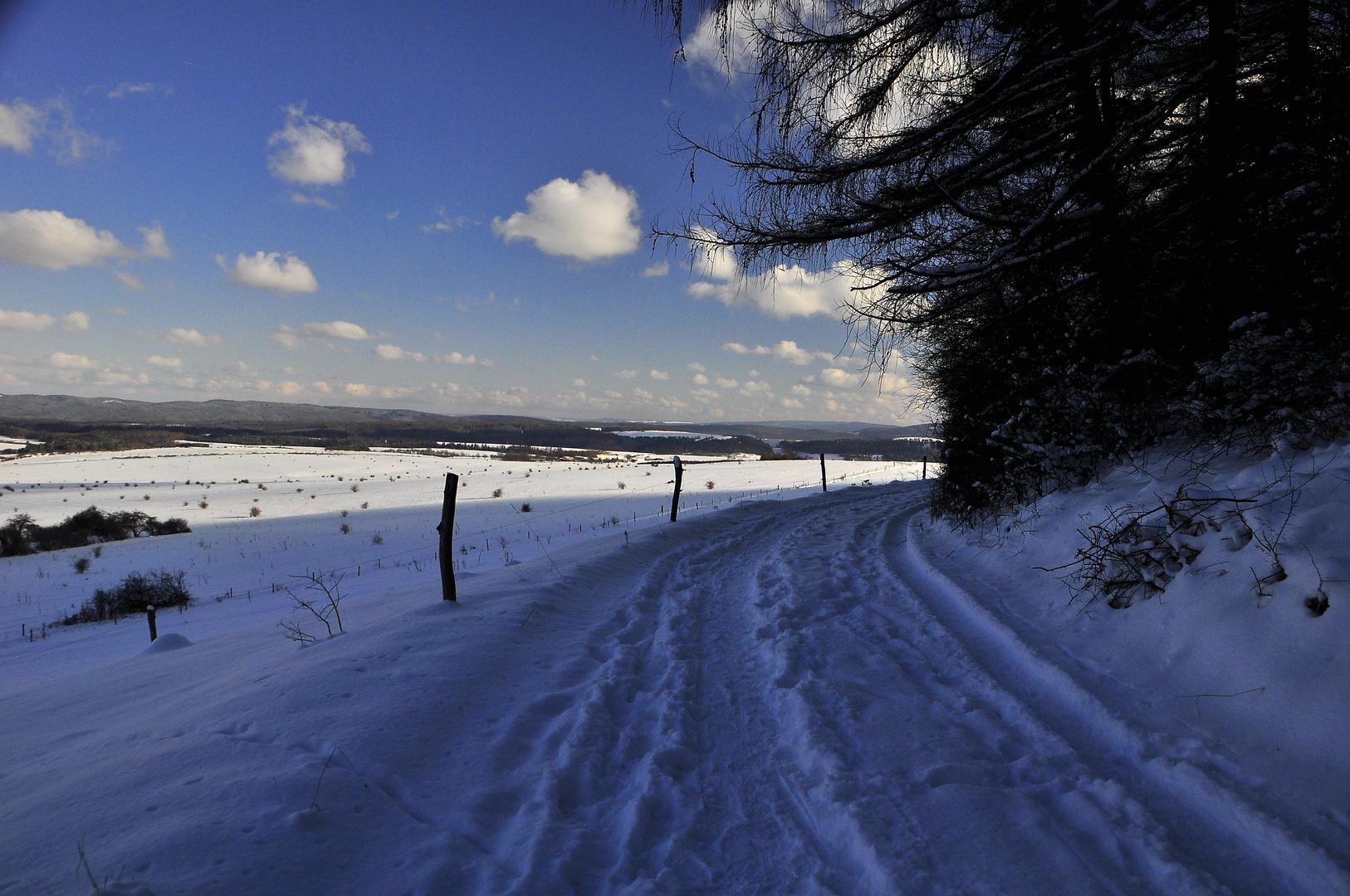 Winter in Thüringen