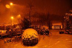 Winter in warmem Licht