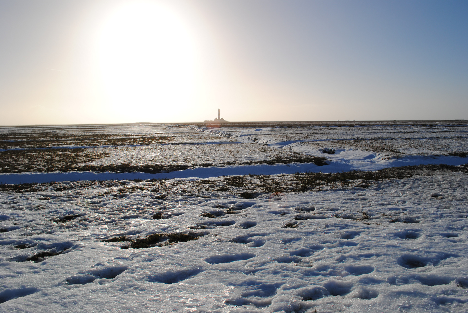 Winter in Westerhever