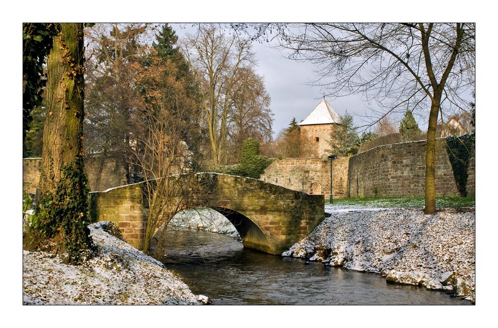 Winter in Wissembourg